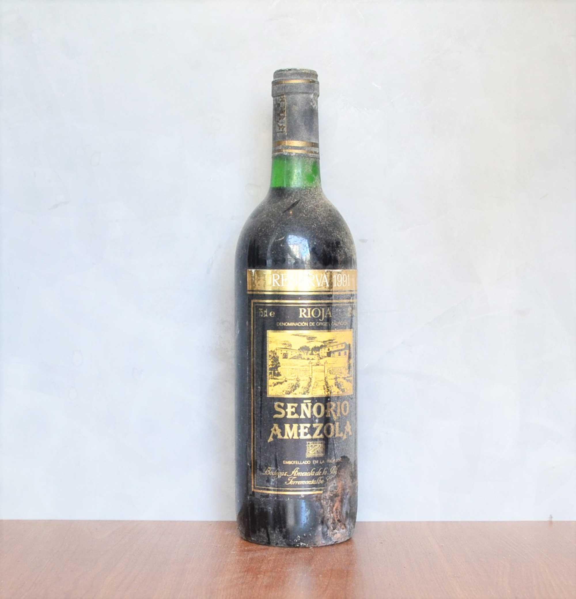 señorio amezola reserva 1991
