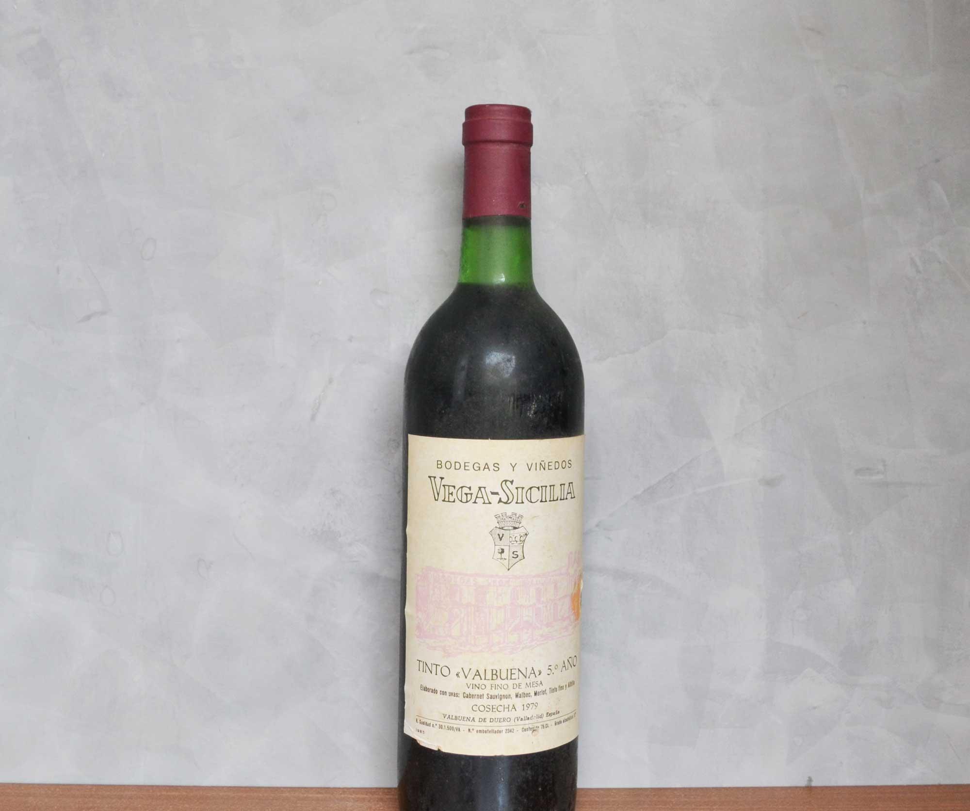 Vega Sicilia Valbuena 5 año 1979