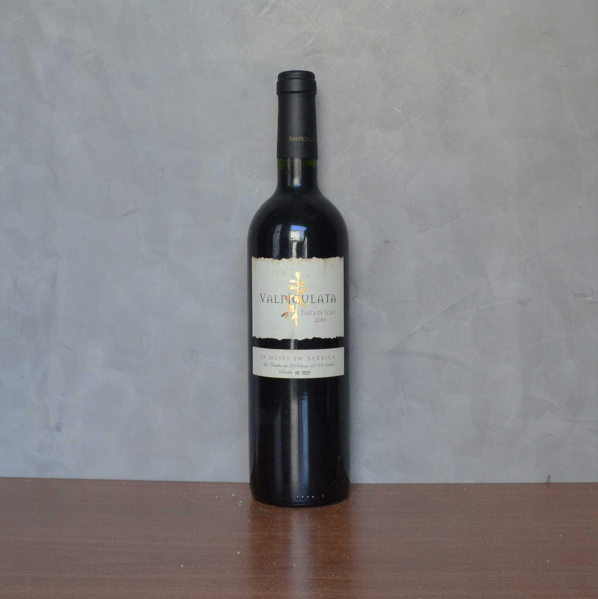 Valpiculata tinta de toro 2004