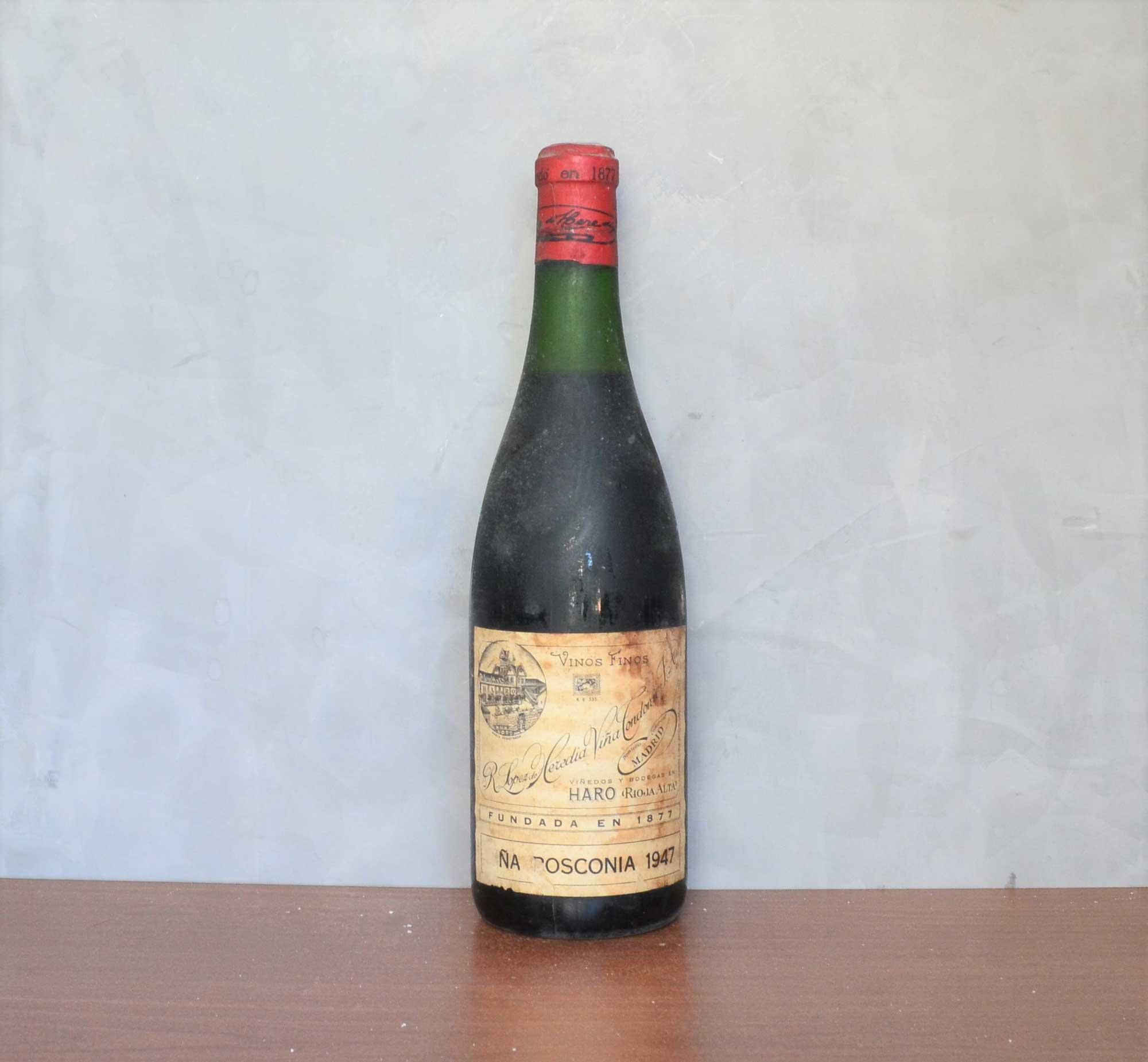 Viña Bosconia 1947