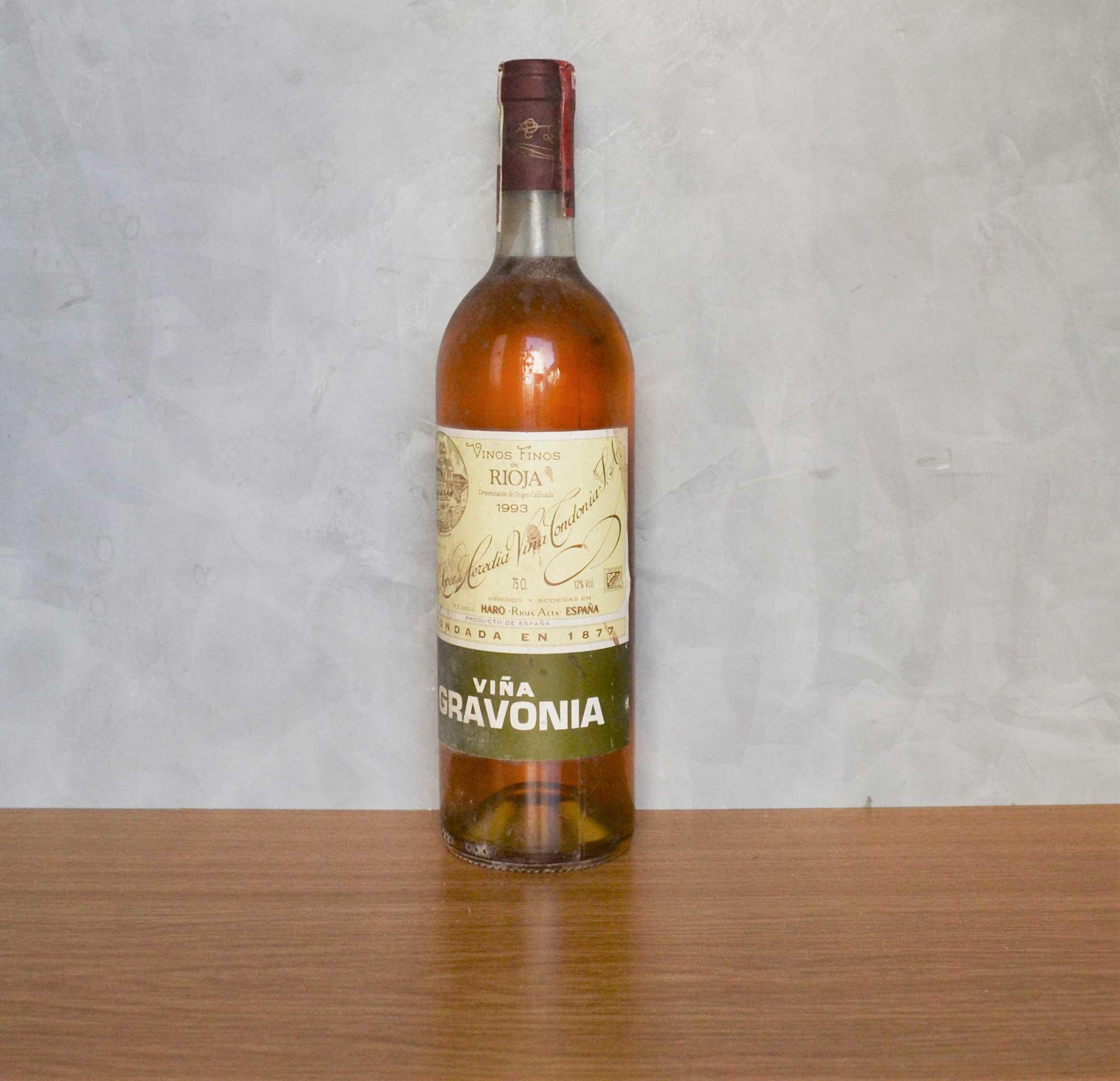 Gravonia white vineyard 1983