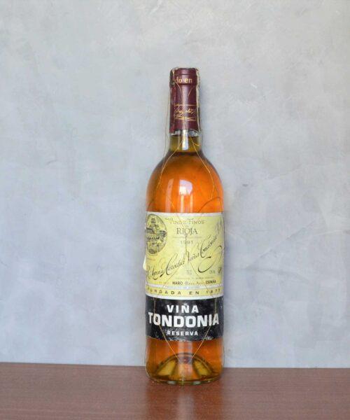Viña Tondonia blanco reserva 1991