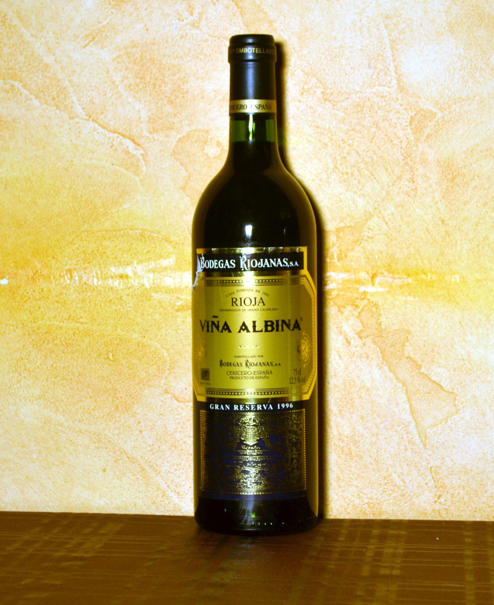 Viña Albina gran reserva 1996