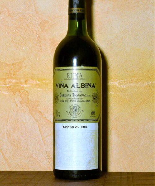 Viña Albina Reserva 1991