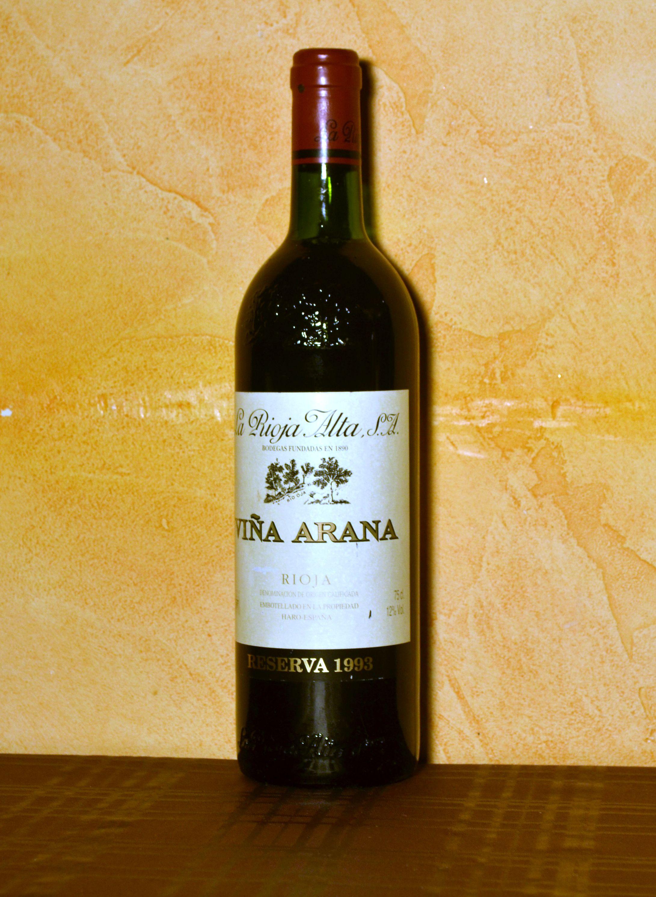 Viña Arana Reserva 1993