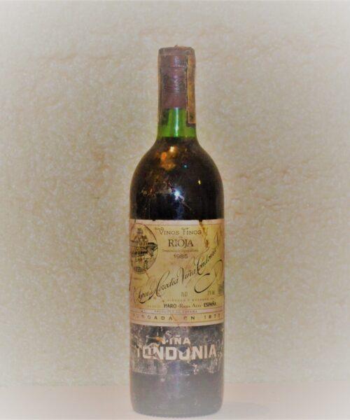 viña tondonia 1986